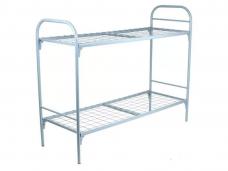 Кровать металлическая 2-х ярус. 1-сп. (1900х700х1900мм) сетка-решетка