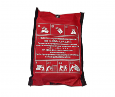 Кошма Полотно противопожарное ПП-600-1-1,5х2,0м 650°С 0,7А 21В 1,42кг АПТВ/Терминал