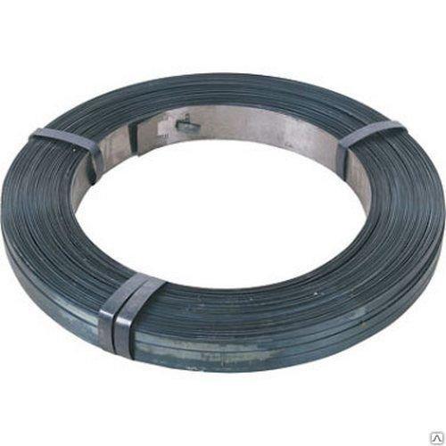 Лента стальная упаковочная 20х0,7мм х/к оцинкованная (08пс) нагартованная в/кг (1м-112г)