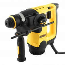 Перфоратор DeWalt D25313K SDS-Plus 800Вт 0-1150/8300/мин 0-3,1/3,4Дж реверс 2,95кг