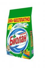 Порошок стиральный Биолан автомат 1200г в ассортименте 1/7 Нэфис