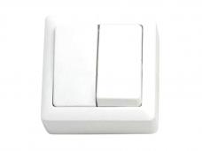 Выключатель открытой проводки 2 клавиши ВА-56-232