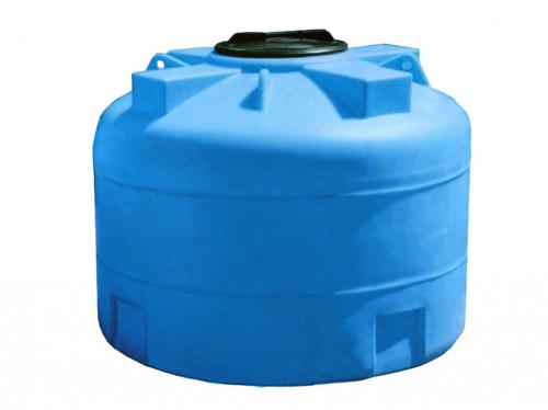 Емкость пластиковый  цилиндр вертикальный 1000ВФК2 1300х930х385мм с крышкой