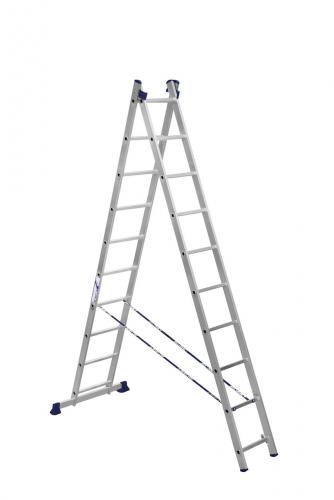 Лестница универсал. алюм. (5210) ЛСУ-2х10