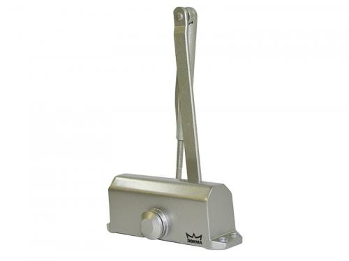 Доводчик дверной Dorma TS-77 EN2 до 50кг/900мм серебро -15+40°С (180°-20°/20°-0°)
