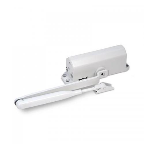 Доводчик дверной Dorma TS-77 EN4 до 90кг/1200мм белый -15+40°С (180°-20°/20°-0°)