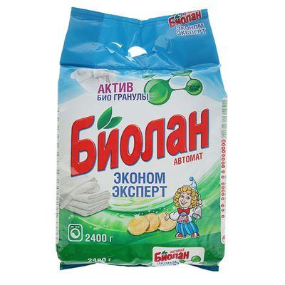 Порошок стиральный Биолан автомат 2400г в ассортименте (1/4)
