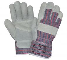 Перчатки комбинированные утепленные (иск.мех) манжет-крага (0205)