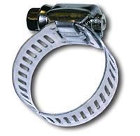 Хомут ленточный червячный 130-150/9мм сталь цинк