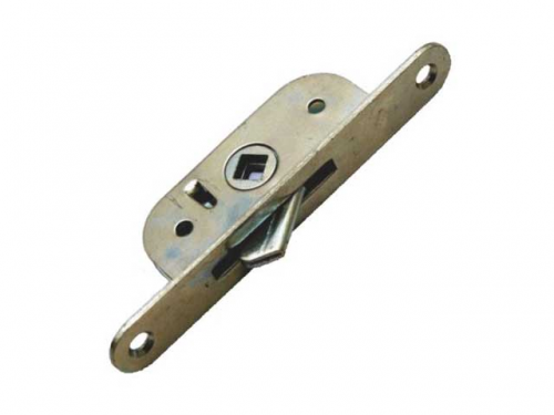Завертка оконная врезная 3ВР-2-1 (механизм без ручки) цинк.белый