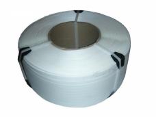 Лента упаковочная полипропиленовая стреппинг-лента 12х0,5мм х3000м белая (шт)