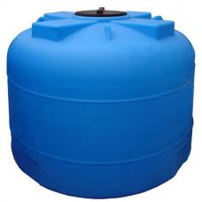 Емкость пластиковый  4500ВФК 2000х1680х385 крышка (синяя)