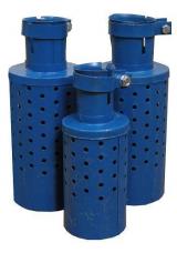 Искрогаситель ИГС-75 Ду77 ф132 L245 d100 h170 0,5кг/см2 300°С 1,1кг