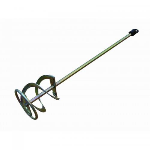 Миксер насадка для красок ф80мм L400мм 6-гр.8мм 7-10кг цинк