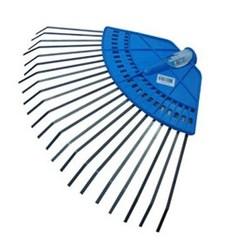 Грабли веерные пластинчатые ГВ-Л 20зубц. Пластиковая основа 400/510мм L340 без черенка (Павлово)