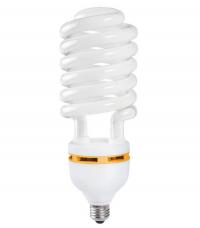 Лампа люминесцентная КЛЛ 20Вт Е27 спираль 38х148мм 1100Лм 8000ч белый