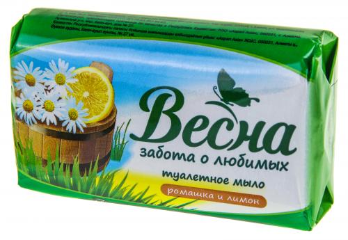 Мыло туалетное Весна 90г в/об. в ассортименте 1/72 ГОСТ 28546-2002 Весна