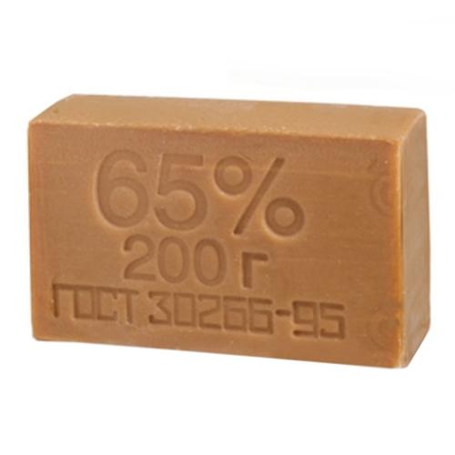 Мыло хозяйственное 65% 200г (48шт/9,6кг)