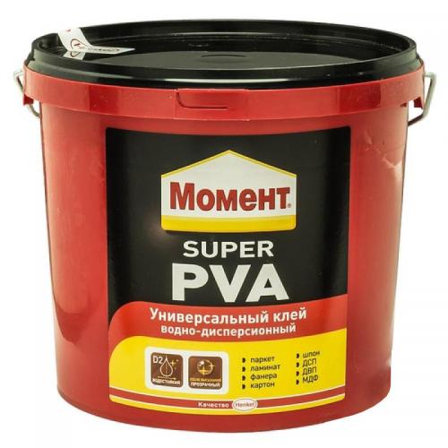 Клей Момент Супер ПВА 3кг универсальный водно-дисперсионный 150г/м2