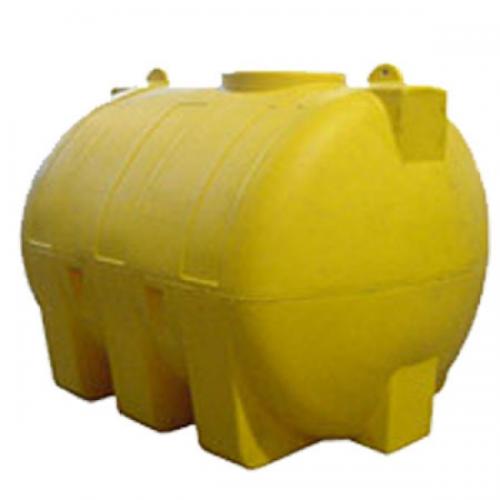 Емкость пластиковый цилиндр горизонтальный МН5000ФК2 2200х1700х1750 с крышкой 400мм