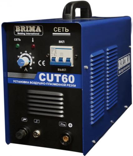 Инвертор воздушно-плазменной резки Brima CUT60 380В до20мм 20-55А 9кВА ПН60% 22кг