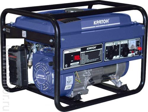 Генератор сварочный бензиновый Кратон GWG-5,0-180 220В 5,5кВт 50-180А 60/32В 88кг
