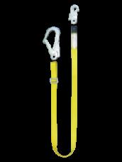 Строп пояса лента Ар капрон регулируемый 2-карабина КР03,КР04 Потенциал
