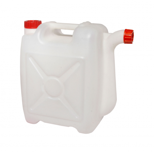 Канистра со сливом пластиковая10л (М049)