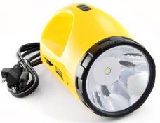 Фонарь аккумуляторный LED LA-1W Яркий Луч раскладушка 3-реж.3W/24/40 3,7В Li-Ion з/у