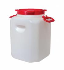 Канистра-бочка пластиковая 50л горлом 215мм 320хh550мм 2ручки (М548)