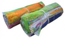 Салфетка техническая ткань 40х40см цветная 1/100/1000