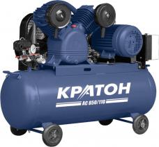 Компрессор Кратон AC-850-110 ременный 380В 110л 10атм 850л/мин 4кВт 127кг