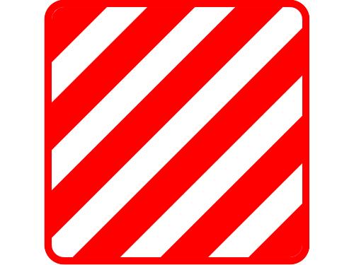 Знак дорожный опознавательный
