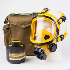 Противогаз промышленный ППФ БРИЗ-3301 А2В2Е2К2HgP3D маска ППМ в сумке