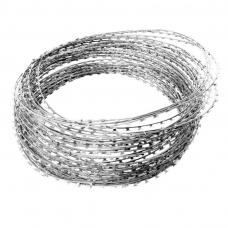 Ограждение спиральное колючее АКЛ 500 40/3 10м ф500мм 40-витков 3-скобы/виток