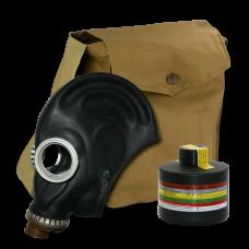 Противогаз промышленный ППФ БРИЗ-3301 А2В2Е2К2HgP3D маска ШМП в сумке