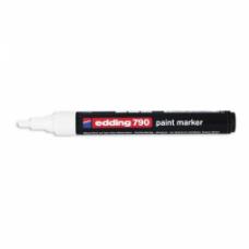 Маркер промышленный Edding 790 белый круглый 2-3мм лаковый пластик