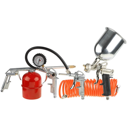 Набор пневмоинструмента 7 предметов DIY