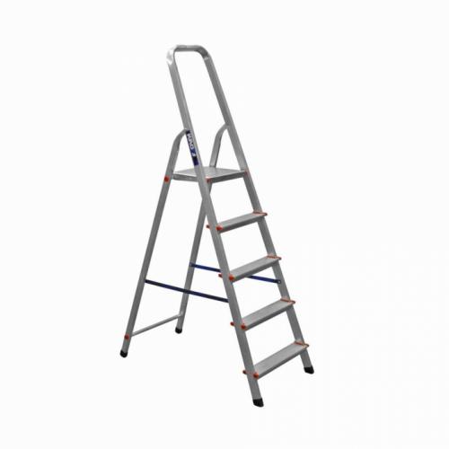 Лестница-стремянка Kroft 603010 10ст. 2,07/4,13м b58 150кгc L286см 6,5кг