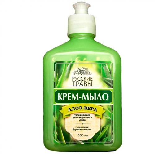 Мыло жидкое Русские Травы 300мл крем-мыло пуш-пул в ассортименте