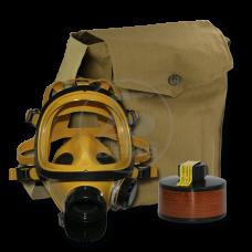 Противогаз промышленный ППФ БРИЗ-3301 А2В2Е2К2SX(CO)NOHgP3D маска ППМ в сумке