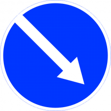 Знак дорожный