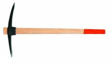 Кирка 2кг 50х520мм кованая ст.45 обратная дерев.рукоятка L900мм Hobbi 38-0-420
