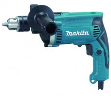 Дрель ударная Makita HP1630 710Вт ПС-13 ф30мм 0-3200об/м 0-44800уд/м реверс. 2,1кг