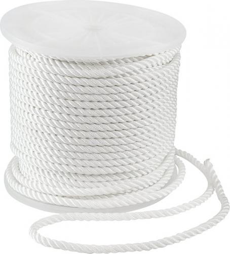 Веревка ПА (полиамид) плетен. 24-пряди ф16мм 4100кгс (157,4-160г/м)