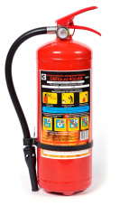 Огнетушитель ОВП-4(з) воздушно-пенный Vл заряд-4кг L3м 20с 7,7кг