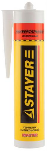 Герметик силиконовый Stayer Master 260мл универсал прозрачный 41213-2_z01