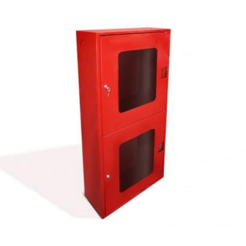 Шкаф пожарный металл. навесной 2отд. открытый ШПК-320НОК 540х1300х230мм красн.