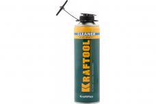 Очиститель монтажной пены Kraftool Kraftflex Premium 500мл (41189_z01)