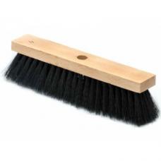 Щетка швабра для пола 5-рядная (9с10-30) на деревянной колодке L-280мм пластиковая крепление без черенка